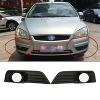 Wholesale grille lighting for sale - 2PCs Pair Black Car Front Left Right Fog Lights Grille for Ford Focus Car Accessories car styling