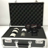 carro de equipo al por mayor-Cámara SLR a prueba de golpes Protección de equipaje rodante Lente digital Maleta Ruedas Equipo fotográfico Trolley Travel Bag