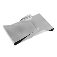 metallwaren großhandel-TFTP Money Clip Kredit Unisex Doppelseitige Halter Brieftasche