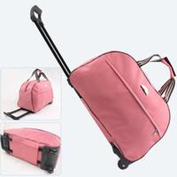 verpackungswürfel organisatoren groihandel-Wasserdichte Oxford Reisetasche Frauen Verpackung Würfel Duffle Bag Portable Koffer Und Reisetaschen Organizer Mode Gepäck