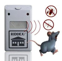 Wholesale Electronic Repeller Insects - Electronic Ultrasonic Riddex Plus Mosquito Rat Rodent Mice Bug Pest Repeller Anti Mosquito Mouse Insect Cockroach Control KKA3975
