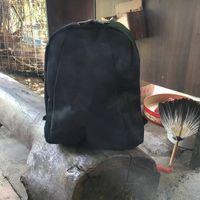 Wholesale backpack logos - NEW arrive Fashion Classic black Backpack 3 style logo Travel Bag Vintage Style Retro Backpack Shoulders Bag Backpack Anita Liao.