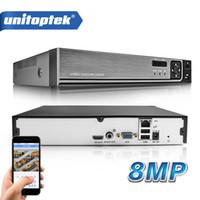 dvr 8ch p2p toptan satış-32CH 1080P 25CH 5M 8MP 4K CCTV NVR H.265 Hareket IP Kamera Güvenlik Sistemi için CCTV Ağ Video Kaydedici ONVIF Algılama
