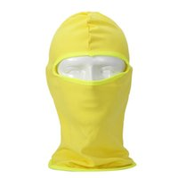 Wholesale dust caps for bikes - Wholesale- Multifunctional Bandana   Cap for Bike   Hood Resistant Face Mask Wind and the Dust for Sport, Outdoor, traveling Yellow