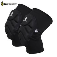 Wholesale leg protector knee for sale - Group buy WOLFBIKE BC314 Paired Elastic Knee Pad Breathable Leg Sleeve Kneepad Protector for Football Basketball Skiing With EVA foam