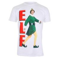 film elves achat en gros de-Film Elf - Marcher - T-shirt Officiel Hommes