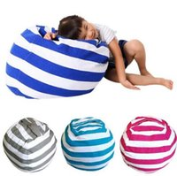 Wholesale fabric couches - Beanbag Chair Portable Couch Cushions Plush Toys Storage Bean Bags Organizer Kids Bedroom Playing Mat Clothes Storage Tool KKA4078