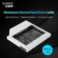 Wholesale laptop internal hard disk for sale - Group buy ORICO L127SS CD ROM Space SATA to SATA Hard Disk Drive Internal HDD Caddy Enclosure for Laptops Silver