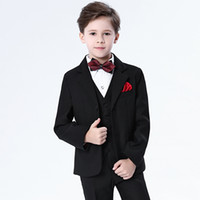 24164c1dac1 Customized new children s suit men s new small suit suit boy baby piano  costume wedding flower girl dress
