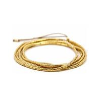 bijoux remplis d'or achat en gros de-Pépites d'or collier de perles de rocaille pour les femmes bijoux de mode or rempli perlé long collier
