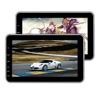 Wholesale car style audio online - 10 Headrest DVD Players Monitor Twin Screen USB SD HDMI Backseat Audio Video Player Tablet style Car dvd Entertainment IR FM Transmitter