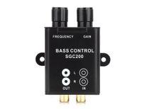 leitor de cassetes 12v venda por atacado-Carro Universal Amplificador Remoto Subwoofer Equalizador Crossover Bass Controlador Novo