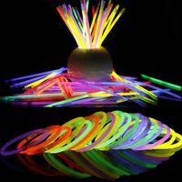 Wholesale multi color bulbs for sale - Group buy 20CM Glow Stick Multi Color Bracelet Necklaces Neon Party Light Stick Wand Novelty Toy Vocal Concert Sticks