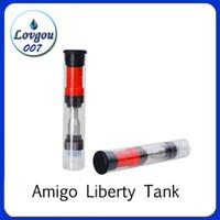 ce5 artı temizleyici toptan satış-2019 Amigo CE3 510 kartuşları yağ Tomurcuk dokunmatik Buharlaştırıcı e sigara Vape 510 Amigo Liberty Tankı Atomizer Kartuş 0.5 ml 1.0 ml