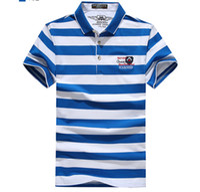 Wholesale Linen Shirt Plus Size - Polo Shirt Men Cotton Casual Slim Fit Classic Striped Polos Shirts Short Sleeve Mens Polo shirt Summer Clothing Plus Size 3XL