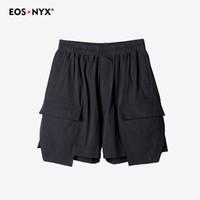 ingrosso pantaloncini hombre pantaloncini-Ro Hip Hop Harem Shorts Pantaloni corti Bermuda Pocket americano Homme Estate Pantalon Corto Hombre Pantaloncini Uomo