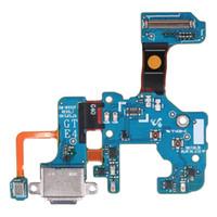 примечание зарядка flex оптовых-Новый USB-разъем для зарядки док-станции зарядки разъем Flex кабель для Samsung Galaxy Note 8 N9500 N950F N950U