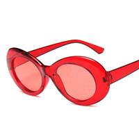 Wholesale sunglasses m resale online - Deepdee Transparent Colorful Sunglasses Woman Man For Ladies Sun glasses Reflective Mirror Eyewear Fashion Vintage Retro M