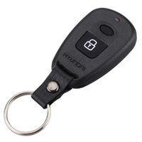 2 Buttons Remote Case Fob Housing Replacement Key Shell Blank With Battery Place Position For Car Hyundai Elantra