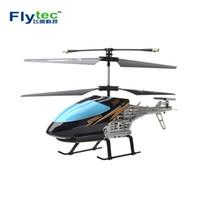 helicópteros de interior al por mayor-Flytec 909T Indoor Mini Helicopter 2CH Radio Control remoto eléctrico Drone Kid Toys para regalo de cumpleaños