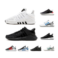 7e13a3c7a501 VENTE CHAUDE EQT 93 17 Chaussures de running pour hommes Support Future  Black White Pink Coat of Arms Turbo Rouge Femmes Sports Outdoor Sneakers  36-45