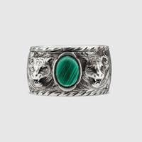 engagement platinum men ring UK - Men's and women's High quality 925 sterling silverJapanese-Korean fashion brand ring silver lovers men British-style Vintage old ring ring