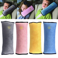 Wholesale baby car covers - Universal baby Car Cover Pillow children Shoulder Safety Belts kids Strap Harness Protection seats Cushion C4050