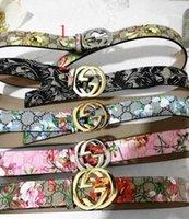 Wholesale gold metal belts for women - AAA 2018 High quality designer belts men Jeans belts styles Cummerbund belts For men Women Metal Buckle