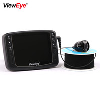 Wholesale underwater color fish camera resale online - 720P MP IR LED HD TVL Color LCD Monitor Underwater Ice Video Fishing Camera System Visual Video Fish Finder Fishcam