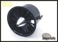 Wholesale electric motor for fan - free shipping QF70 EDF jet FAN FOR RC AIRPLANE 6S 12 blades 70mm EDF KV1800 1.8KG PUSH FOR RC model hobby EDF plane part