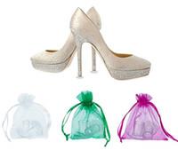 zapatos mujer tacones china al por mayor-Calzado repuestos bajo precio zapatos de mujer protector de talón con bolsa hecha en China