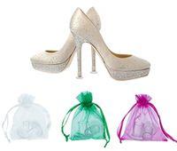 schuhe frau fersen china groihandel-Schuhteile Niedriger Preis Frauen Schuhe Fersenschutz mit Tasche made in China