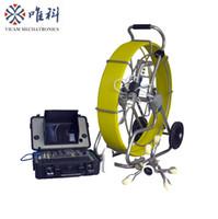 batteriebetriebener roboter großhandel-Batteriebetriebene Kanalroboter-Inspektionskamera Kanalisation 11mm 150m Videorohr-Inspektionskamera V8-3288PT-1