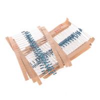 Wholesale value resistor resale online - Hot Sale Values W W Metal Film Resistors Assorted Pack Kit New
