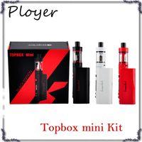atomiseur mini kanger pro achat en gros de-Kit de démarrage Kanger Topbox Mini 75W TC de haute qualité Kangertech KBOX Mini Boîte Mod Toptank pro SSOCC Atomiseurs Vapor mods subox nano