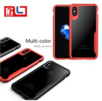 Wholesale Cool Shocks - For Iphone X Phone Case ShockProof 4 side edge reinforcement shock absorbing by aseismic airbag Black cool color Free DHL shipping