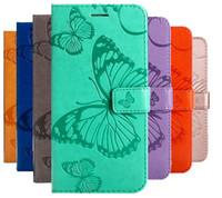 portefeuilles galaxy s5 achat en gros de-Etui portefeuille en cuir Flip Etui en cuir pour Samsung Galaxy S5 S6 S7 S8 S9 Plus Coque de protection pour téléphone Coque Silicone souple