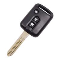 schlüssel fob preise großhandel-Großhandelspreis ersatz schlüsselloses eintrag fall für Nissan 3 knopffernschlüsselfreien shell Fob cover