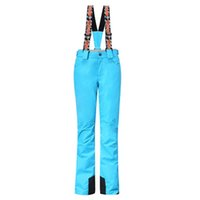 лыжная одежда женщина оптовых-Gsou Snow Brand Ski Pants Women Waterproof Snowboard Pants Ski Trousers Breathable Outdoor Skiing Winter Snow Clothes Hot Sale