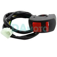 Wholesale off momentary - Pit Bike Momentary Press STOP SWITCH Cut Off Cut Out Kill Button 110cc 125cc