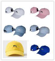 Wholesale Top Hat White - Top Fashion New Style bone Luxury design Curved visor Casquette brand baseball women gorras dad hats for men hip hop Snapback Caps