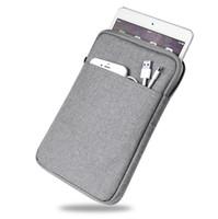 tabletten zoll großhandel-Stoßfest Tablet Sleeve Pouch Für iPad mini 2 3 4 iPad Air 1/2 Pro 9,7 zoll Abdeckung Dick 2017 Neu