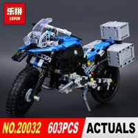 Wholesale motorcycle build - New Lepin 20032 603Pcs Technic Series The car Off-road Motorcycles R1200 GS Building Blocks Bricks Educational Toys with 42063