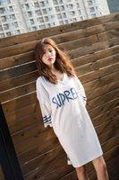 Wholesale Sexy Nightshirts - Big Nightgowns For Women 2018 Spring Summer Dressing Gowns Girls Nightshirts Nightdress Cotton And Silk Sleepshirt