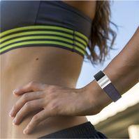 Wholesale fabric wrist watch band resale online - Nylon Loop Release Watch Band Strap Wrist Bracelet Watchband Fitbit charge Nylon Sports Fabric Like Strap