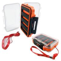 Wholesale fishing equipment for sale - Fishing Equipment Storage Case Transparent Double Creative Bait Box High Quality Plastic Water Proof Mini Fishhook Boxes zd jj