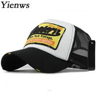 Baseball Summer Hats for Men Women Mesh Net Baseball Caps WESTE Bone  Trucker Hats Curve Brim Cap Casquette Homme YIC644 ce1da7cfa7b1