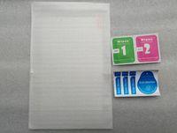 lenovo miix venda por atacado-100 pcs protetor de tela filme de vidro temperado para lenovo miix 4 miix 700 miix700 miix700 12 polegada comprimidos de limpeza toalhetes sem caixa de varejo