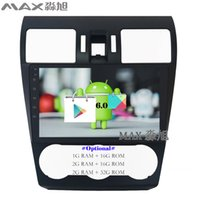 Wholesale Car Radio For Subaru - Android 6.0 Car DVD Player for Subaru WRX Forester 2014 2015 2016 with Car Radio BT WIFI SWC GPS free map