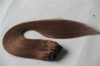 rabatt menschenhaar weben großhandel-Ultra-low-Rabatt 100% Echthaar-Webart 10-30 Inchs malaysisches reines Haar gerade 6A unverarbeitete Doppelschuss Haarverlängerungen